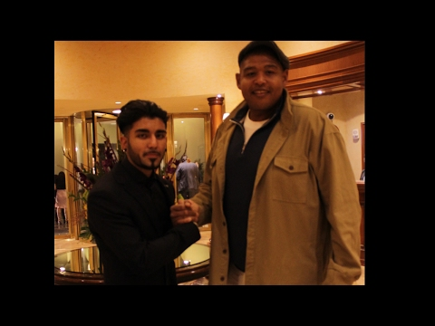 My Weekend in LAS VEGAS! (ft Omar Benson Miller!)