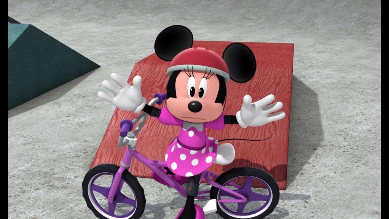 מיקי ומכוניות המירוץ | תחרות אופניים