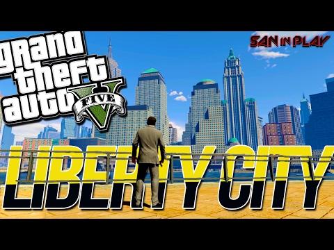 COMO IR A LIBERTY CITY NO GTA V?!
