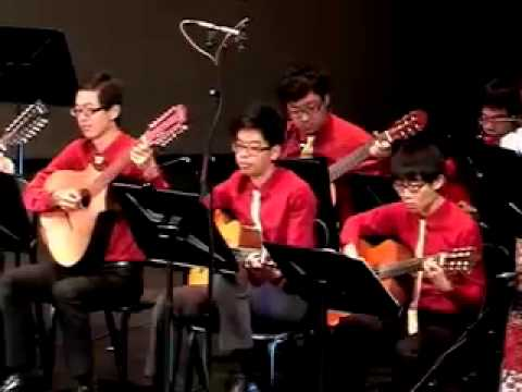 Fiesta Rondalla 2014: 02 Dandansoy - Filipino Folk Song. Arranger: Al Dizon
