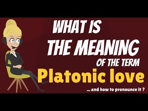 Platonic love definition