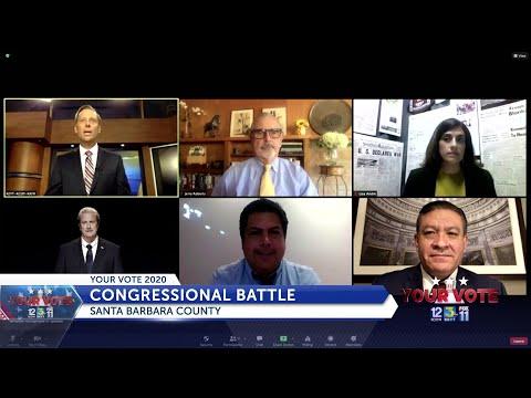 Rep. Carbajal and Andy Caldwell take part in virtual debate