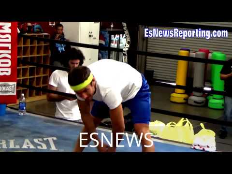 Inside Look At VASYL LOMACHENKO Training Camp - esnews boxin