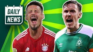 FC Bayern: Wagner nach China? Bleibt Hakimi beim BVB? Kruse zurück zu Gladbach? FCA holt Lehmann!