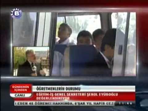 Eğitim İş Genel Sekreteri Şenol EYÜPOĞLU Kanal B Televizyonunda