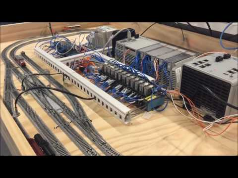 PLC Automated Train Project Allen Bradley PLC AdvancedHMI SCADA