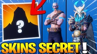 SKIN SECRET ROAD TRIP AND MODIFIERAble TENUES on Fortnite: Battle Royale