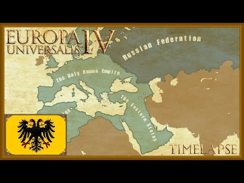 Europa Universalis 4 - The Austro-Russian Empire - Austrian Timelapse (Rights of man)