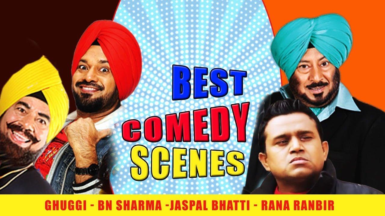 Blockbuster Punjabi movies - Best Comedy Scenes - Ghuggi - BN Sharma -Jaspal Bhatti - Rana Ranbir