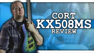 Cort's 8-String Guitar - the KX508MS Reviewed
