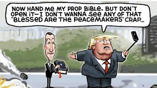 7 scathing cartoons about Trump's Bible photo op