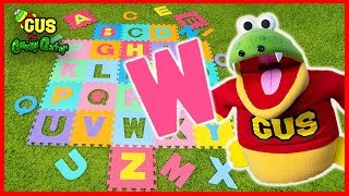 Download Gus the Gummy Gator Learn the Alphabet Song! Sing ABC Nursery Rhyme Fun & Easy Sing A Long Song Mp3 and Videos