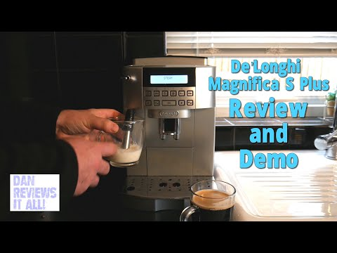 DeLonghi Magnifica S Plus Beans-to-Cup Coffee Machine Review and Demo