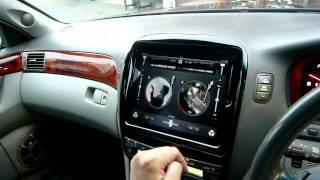 i pad をセルシオに取り付け ipad install to the car by PHKOSUGI