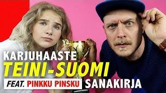 TEINI-SUOMI-sanakirja (ft. Pinkku Pinsku) | Kalenterikarju