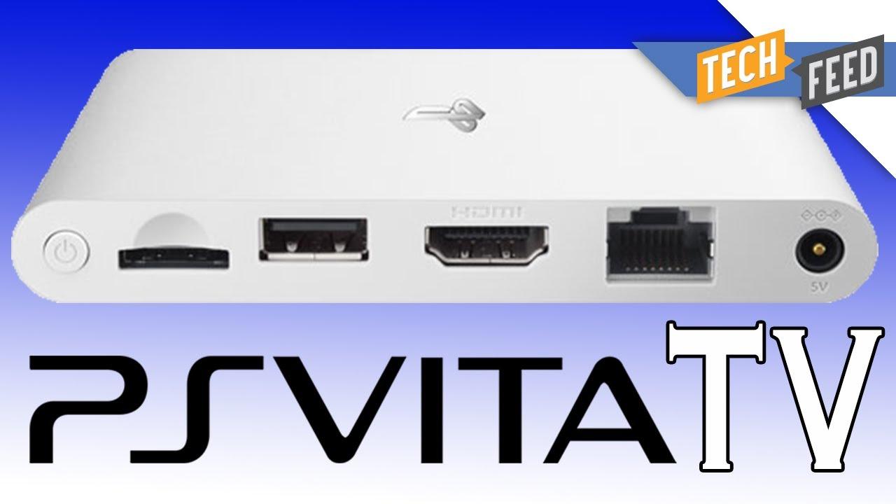 PS Vita TV: Play Vita Games & More on Your TV! - YouTube