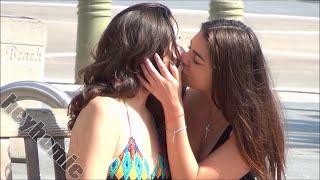 girl kissing more random girls part 3