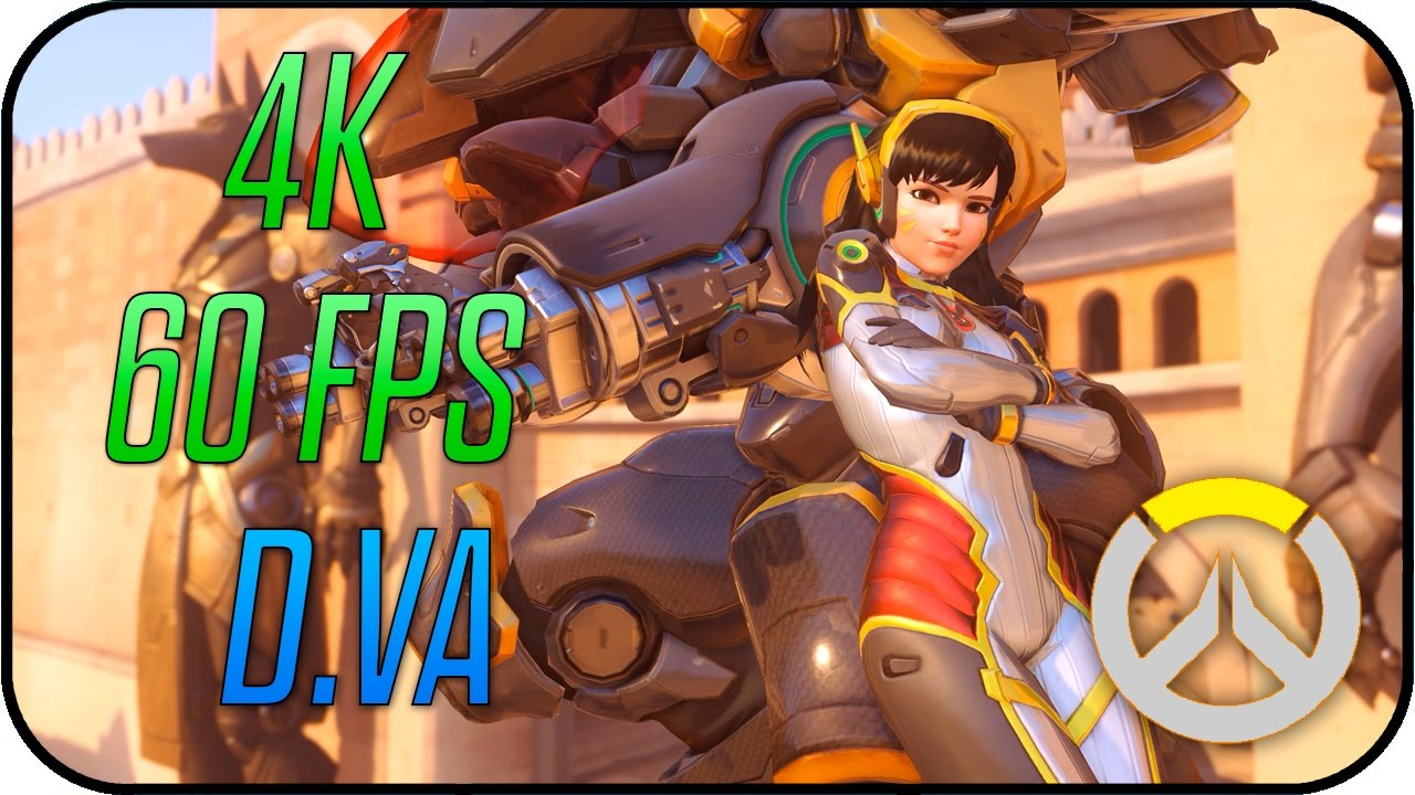 Overwatch D Va Carbon Fiber Animated Desktop Wallpaper 4k 60fps