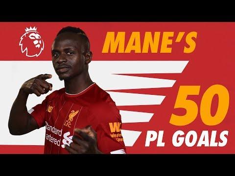 Sadio Mane's 50 Premier League goals | Screamers, late winners and more.