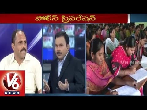 Special Discussion On TS Police Recruitment | 7PM Discussion | V6 News