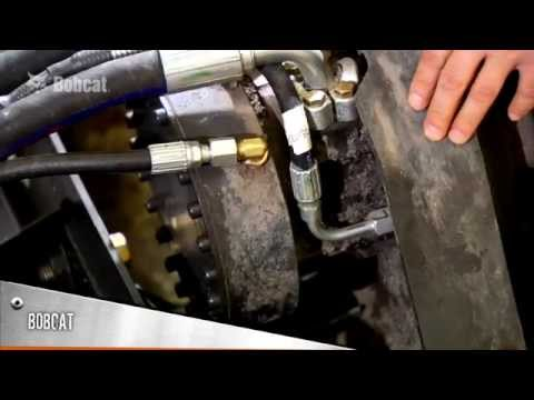 Bobcat drive motor comparison youtube for Bobcat t190 drive motor