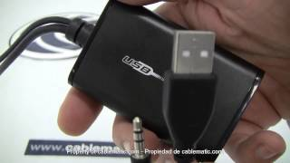 USB 2.0 vers adaptateur HDMI distribué Cablematic ®