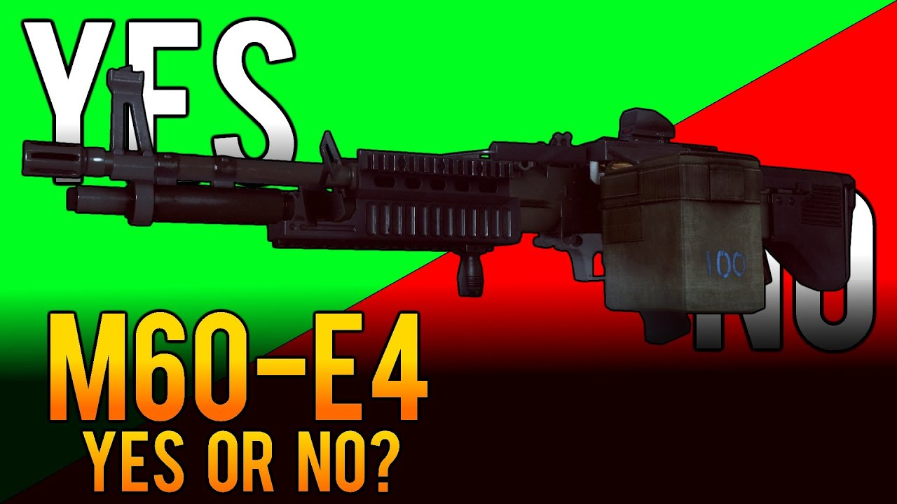 Yes or No - M60-E4 LMG Weapon Review - AKA `The Pig` - Battlefield 4 (BF4)