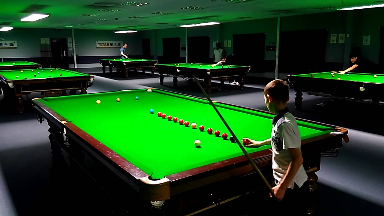 Star Snooker Academy Sheffield England YouTube - Star pool table