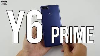 Huawei Y6 Prime giá hơn 3 triệu có vân tay, màn hình Fullview 18:9