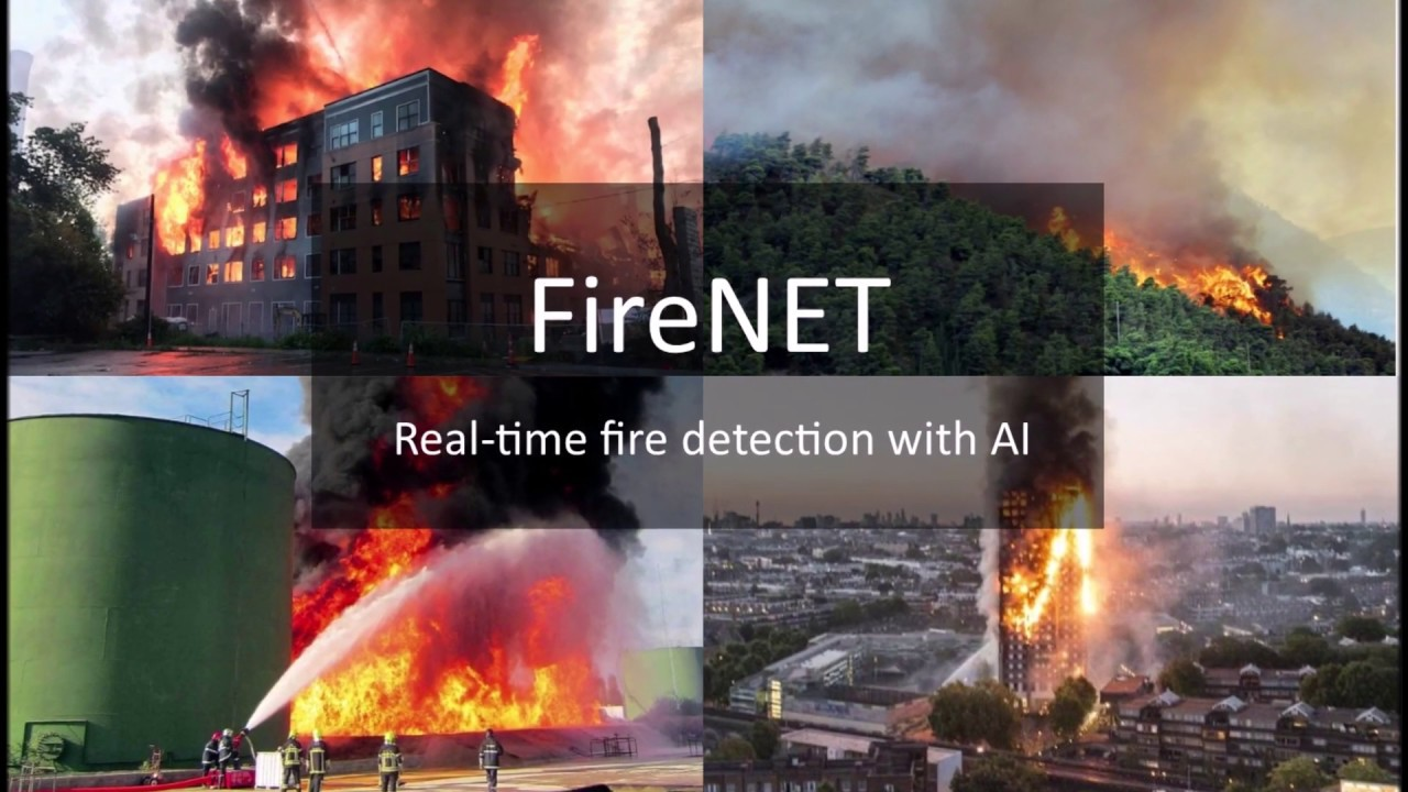 FireNET - Real-time fire detection with AI