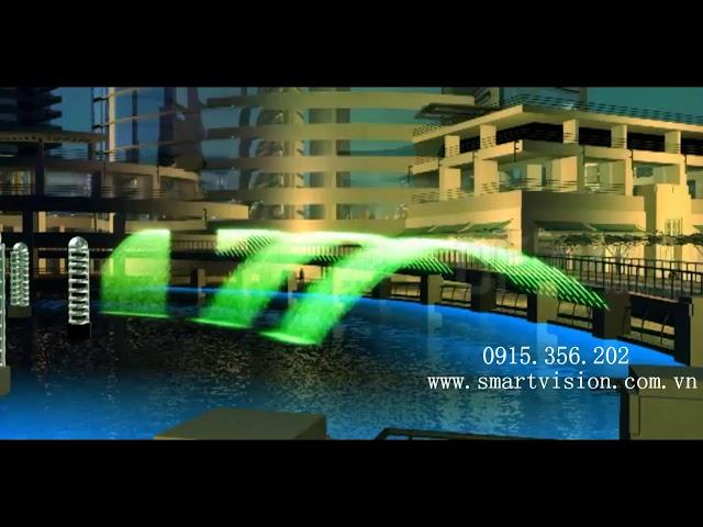 Cầu phun nước nghệ thuật - Bridge Fountain