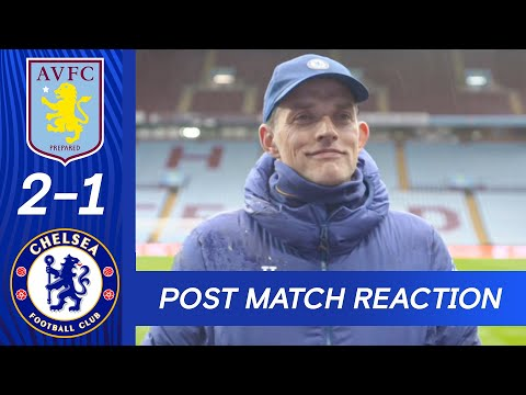 Tuchel very pleased to achieve a place in the top four | Aston Villa 2-1 Chelsea | Premier League