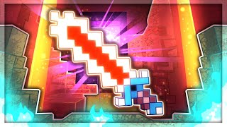 This *NEW* NETHERITE SWORD Is AMAZING in Minecraft Dungeons