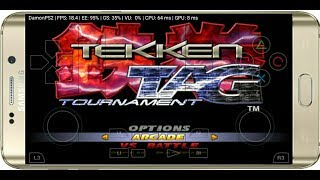 350 MB Tekken tag tournament on android gameplayed