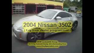 Atlanta GA: 2004 Nissan 350Z - Programmed New Dealer key!