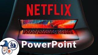 PowerPoint Slide Design Challenge: Netflix Homepage