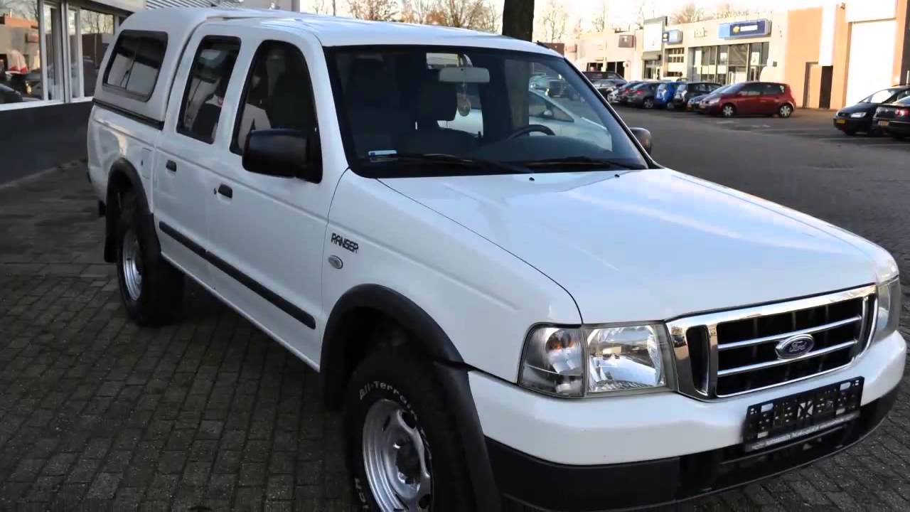 Ford Ranger 2.5 TD 80KW 4X4 XLT Double Cab / Airco / €5 ...