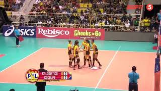 Sara Klisura | Cocolife vs F2 Logistics Highlights | PSL Grand Prix 2018
