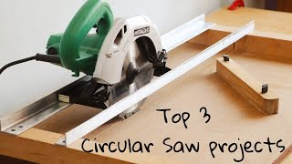 Top 3 Circular Saw Projects || 3 Best Circular Saw Ideas