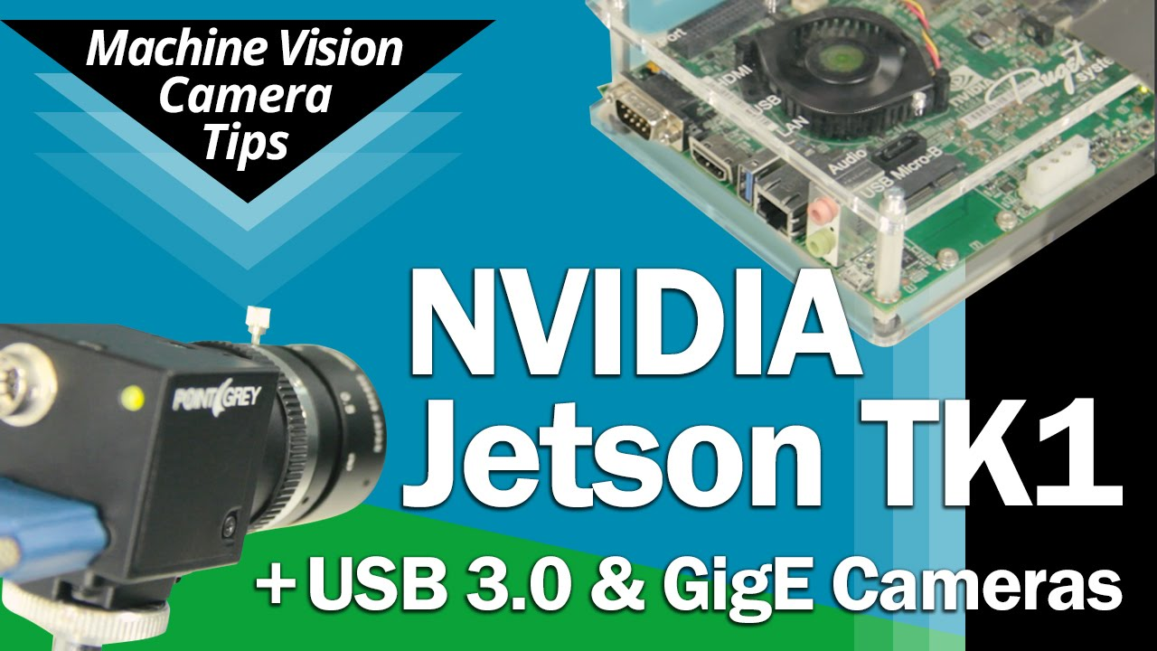 NVIDIA Jetson TK1 + Point Grey USB3 / GigE Cameras - Overview