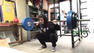 Squat everyday Day 599: Back to my roots