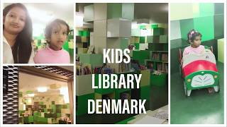 A day in my life vlog Denmark | Library for kids Denmark | #DIML | Bhuvanas kitchen