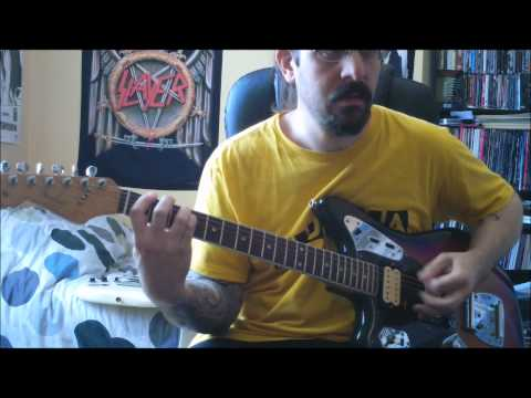 "Nirvana FULL ""Bleach"" played on guitar ! track after track ! full HD"