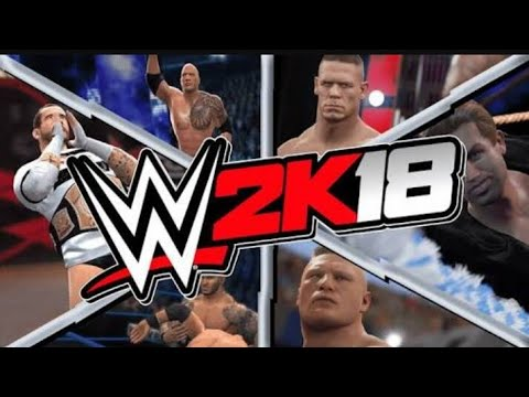 DOWNLOAD WWE 2K18 APK+DATA  FOR ANDROID ONLY 600MB