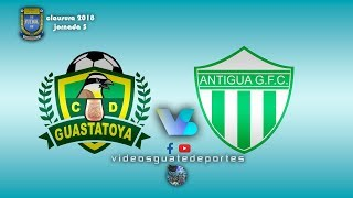 Guastatoya vs Antigua Guatemala full match