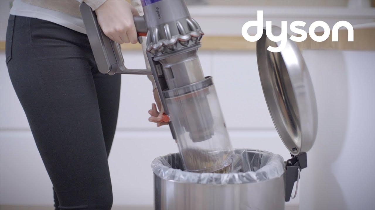 Как вытряхнуть пыль из дайсон авторизованный сервисный центр dyson