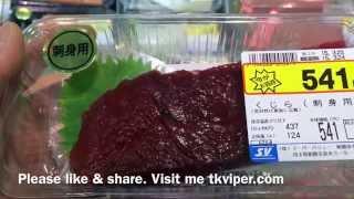 Japan Loves Whale Meat - Filmed by tkviper.com