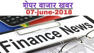 Share news #7-June-2018 - Videocon bid , Maruti eco friendly technology , kelvincare ipo 🌟🌟🌟 thumbnail