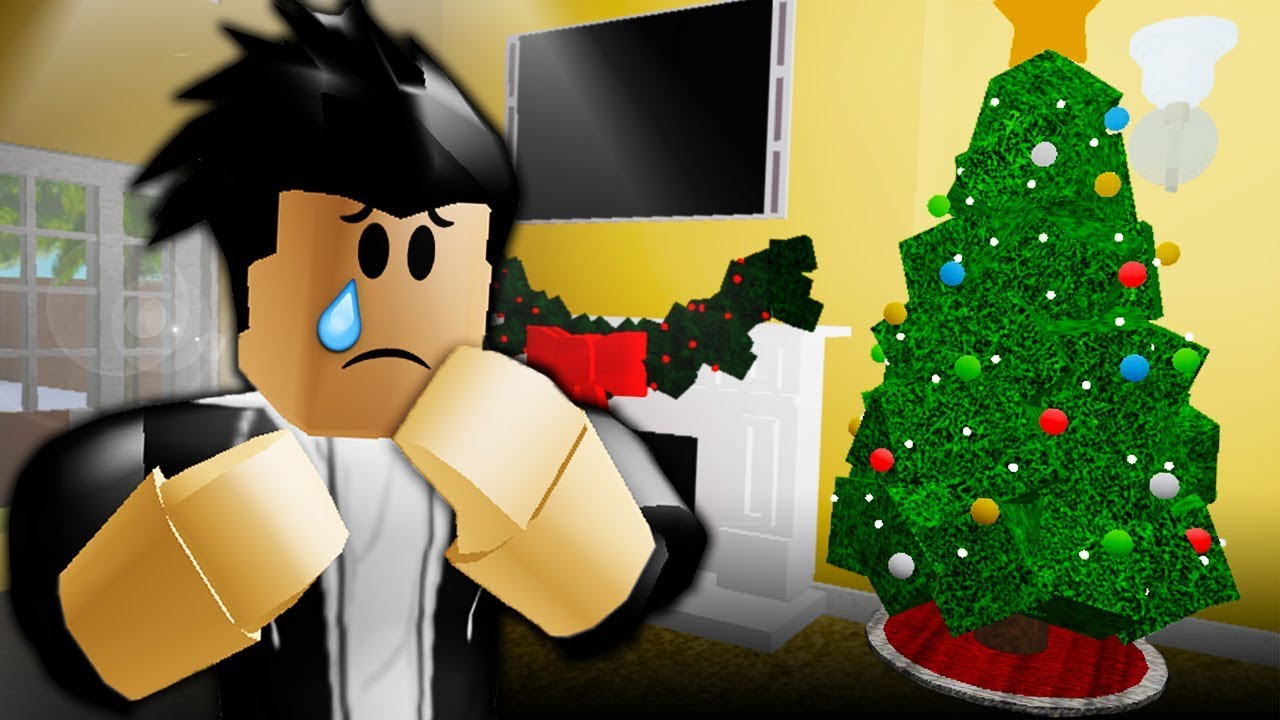 ALONE ON CHRISTMAS: A SAD ROBLOX MOVIE