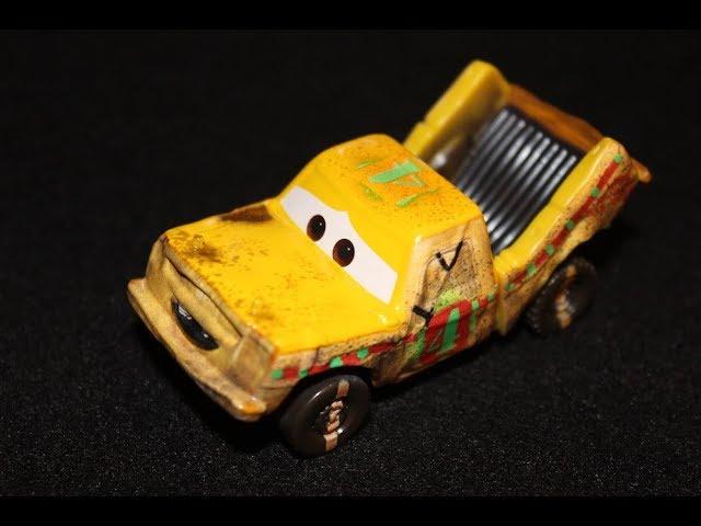 Mattel Disney Cars 3 Taco Demolition Derby Contender Die Cast